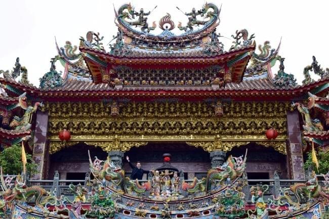 Shoujhen Temple: Things to Do in Alishan