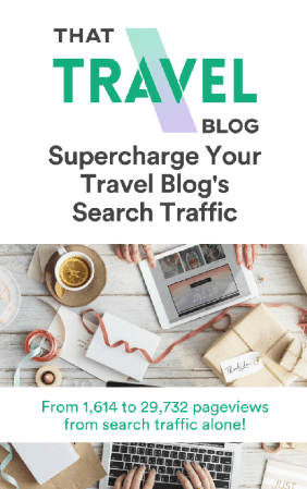 Supercharge Your Travel Blog's Search Traffic