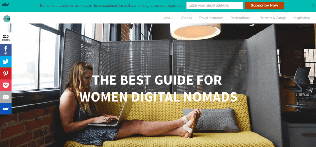 Women Digital Nomads