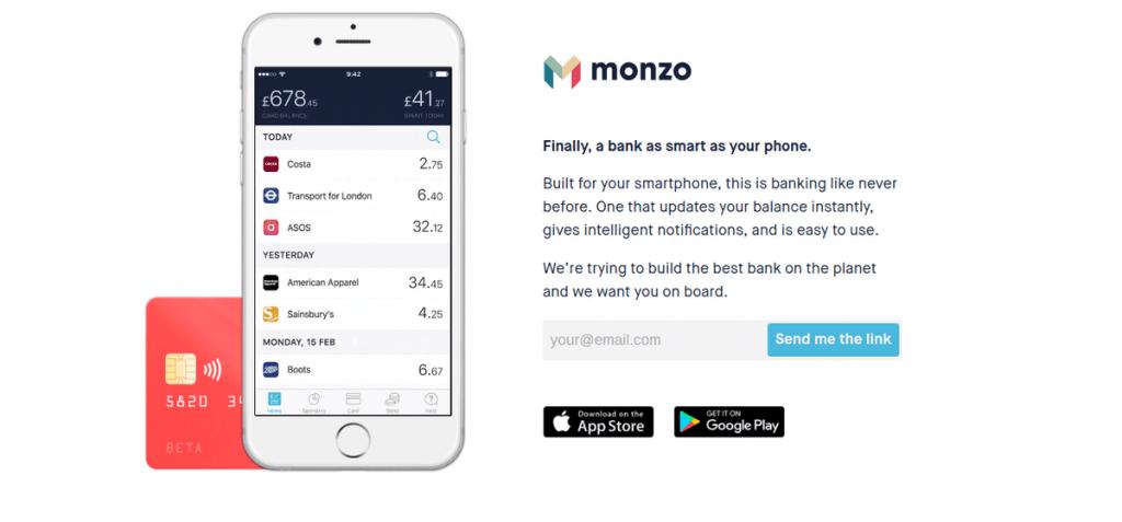 monzo travel money